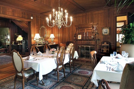 Engadine Inn Dining Room