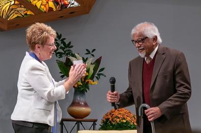 Dr. Arun Ghandi's visit